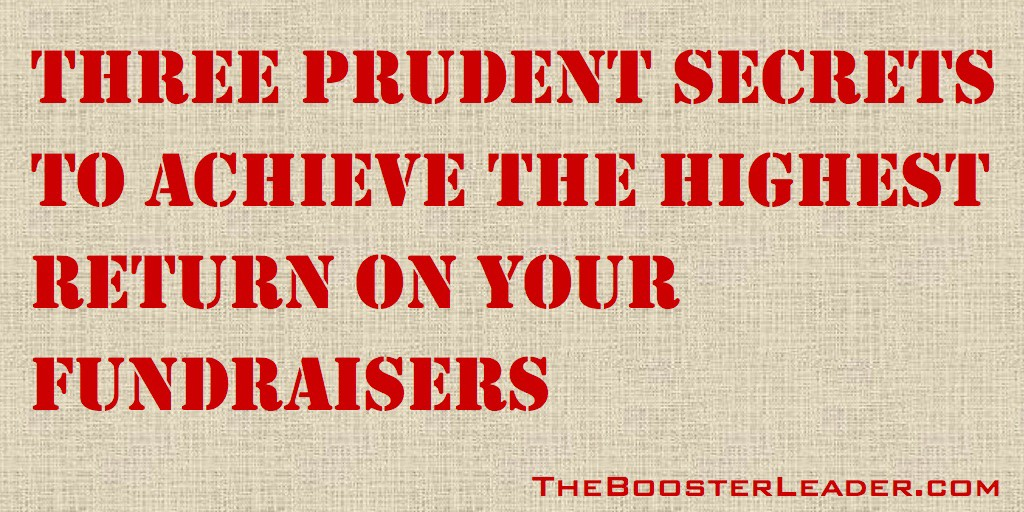 60 - 3 Prudent Secrets of Fundraising